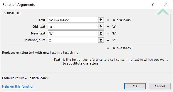 Excel substitute function excel vba built in excel substitute function using hardocded values ibookread ePUb