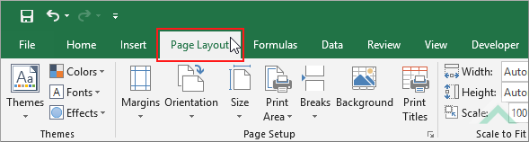 Hide gridlines in a workbook using excel and vba exceldome select the page layout tab ibookread PDF