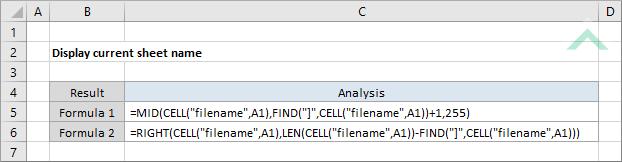 Display current sheet name excel vba display current sheet name excel ibookread ePUb