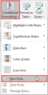 Color blank cells using Excel and VBA | Exceldome